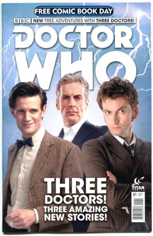 DOCTOR WHO, NM, FCBD, 10th, 11th, 12th Drs, Tardis, 2015, Titan,more DW in store