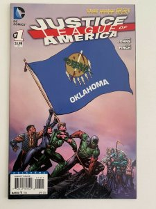 Justice League of America #1 New 52 Oklahoma Variant  (DC Comics) NM