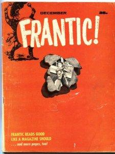 FRANTIC #2-DEC 1958-MAD IMMITATOR-DICK TRACY-JAYNE MANSFIELD-BARDOT-LASSIE