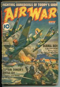 AIR WAR FALL1942-THRILLING-WII-NAZI'S-BOMBERS-CAPTAIN DANGER-