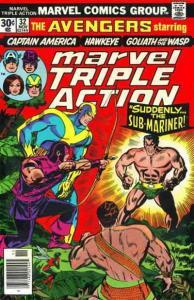 Marvel Triple Action #32 FN; Marvel | save on shipping - details inside