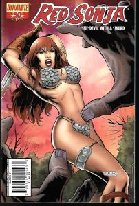 Red Sonja #30 (Dynamite Entertainment)- Fabiano Neves Cover