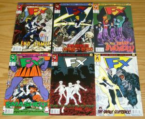 FX #1-6 VF/NM complete series - john byrne - idw comics set lot 2 3 4 5