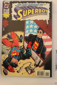 Superboy The Animated Series 4 NM