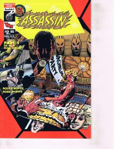Lot Of 4 Assassin TSR Comic Book #1 2 4 6   BH50