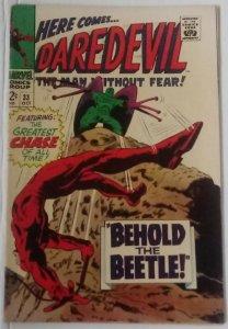 Daredevil #33 Stan Lee Gene Colan Marvel Silver Age DD ID24H