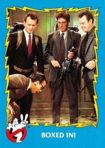 1989 Topps Ghostbusters #33 Boxed In! > Egon > Peter & Ray >