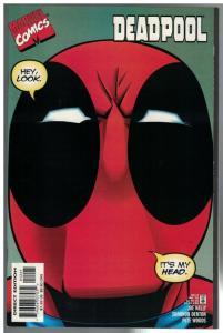 DEADPOOL (1997) 12B VF-NM Full Face cover January 1998