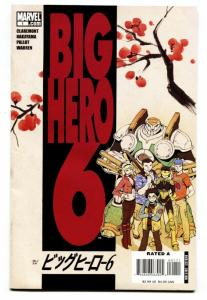 BIG HERO 6 #1-comic book 2008-SIX-FIRST ISSUE-HTF-MARVEL-MOVIE-