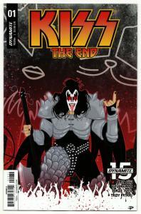 Kiss The End #1 Cvr C (Dynamite, 2019) NM