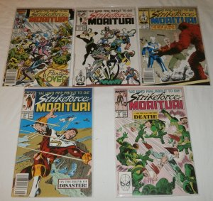 Strikeforce Morituri #4,5,24,29,30 (set of 5) Gillis, Hudnall, Anderson, Bagley