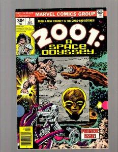 2001 A Space Odyssey # 1 FN/VF Jack Kirby Marvel Comic Book Movie Adaptation JK7