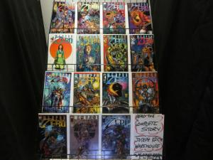 WEAPON ZERO (1996 IM/TOP COW) vol.2 1-15  Complete Set!