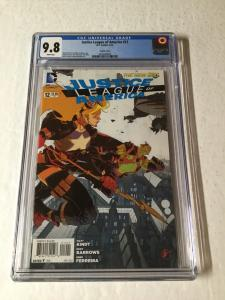 Justice League Of America 12 Cgc 9.8 Steampunk Variant New 52