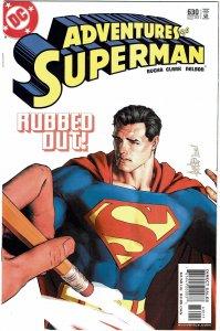 Adventures of Superman #630 NM+