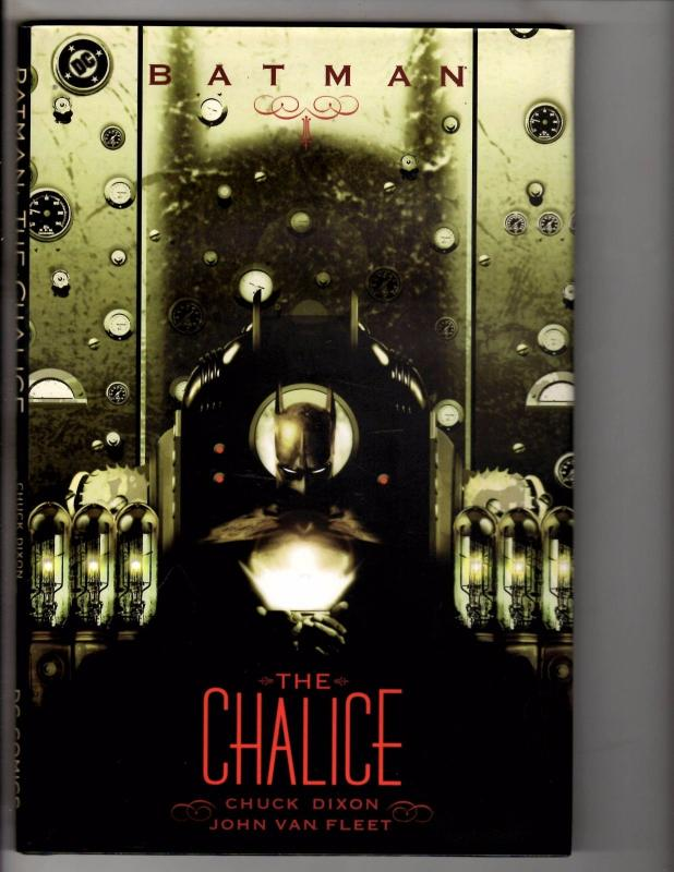 Batman The Chalice DC Comics HARDCOVER Graphic Novel Comic Book 1st Print CR9