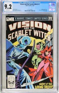 Vision and Scarlet Witch #1 CGC Graded 9.2