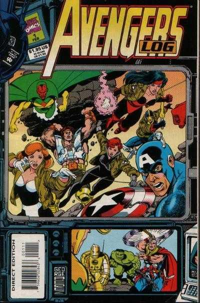 Avengers Log #1, NM (Stock photo)