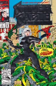 Silver Sable and the Wild Pack #1, VF+ (Stock photo)