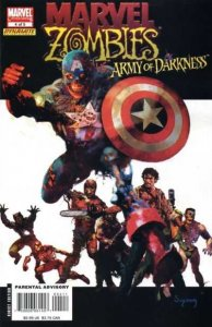 Marvel Zombies / Army of Darkness #4, NM (Stock photo)