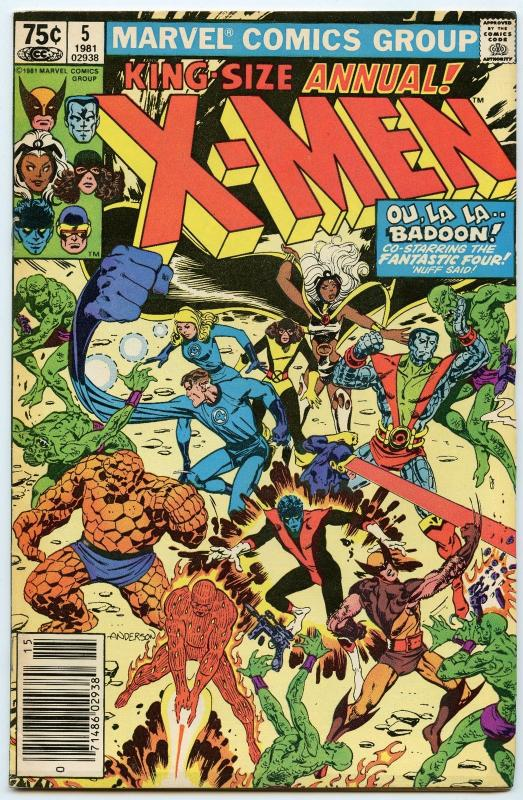 X-Men Annual 5 1981 VF+ (8.5)