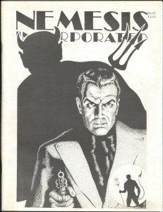 Nemesis Incorporated #22 1986-THRILLING PUBS EDITOR JACK SCHIFF INTERVIEW-CAPTAI