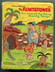 Flintstones Case of the Many Missing Things Big Little Book #2014 Whitman 1968