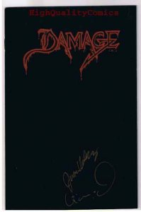 DAMAGE Ashcan, Preview, Signed & Numbered,1993, NM