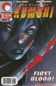 Blade of Kumori, The #3 VF/NM; Devil's Due | save on shipping - details inside