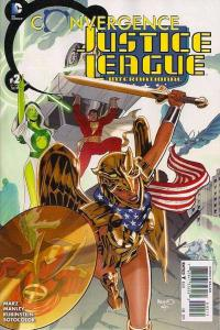Convergence Justice League International #2, NM + (Stock photo)
