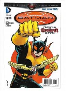 Batman Incorporated #11 DC New 52 NM 9.4+  (2013) Chris Burnham cover.