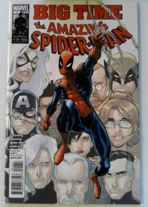 AMAZING SPIDERMAN SET OF TWO COVERS BIG TIME (648-650) & INFESTED SPIDER ISLAND