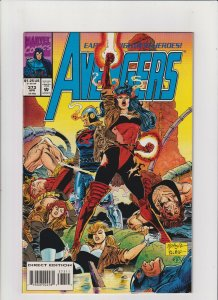 Avengers #365 NM- 9.2 Marvel Comics 1993 Captain America Black Knight Vision