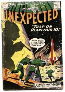 TALES OF THE UNEXPECTED #41 1959-SPACE RANGER-ROCKET G-