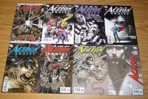 Action Comics #844 845 846 851 855 856 857 & Annual 11 VF/NM richard donner set
