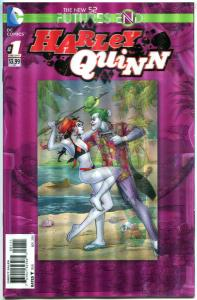 HARLEY QUINN Future's End #1, NM, Amanda Conner, Palmiotti,2014,more HQ in s