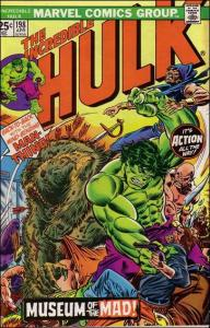 Marvel THE INCREDIBLE HULK (1968 Series) #198 FN+
