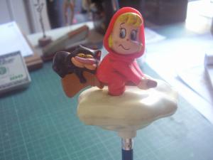 Mickey and Wendy Miniature