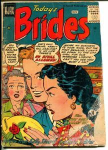 Today's Brides #4 1956-Ajax-spicy romance art-P