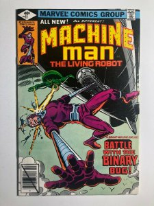 Marvel  MACHINE MAN #11 Battle with the Binary Bug! F/VF (A448)
