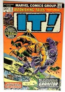 Astonishing Tales #22 Marvel 1974 FN- Bronze Age Comic Book 1st Print