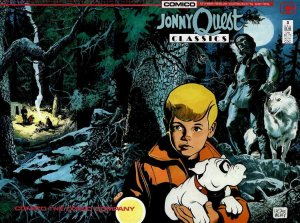 Jonny Quest Classics #3 VF/NM; COMICO | save on shipping - details inside