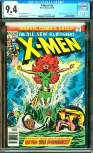 X-Men # 101 CGC Graded 9.4 Origin and 1st appearance of Phoenix