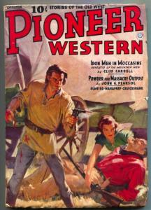 Pioneer Western Pulp #3 October 1937- Last issue- Iron Men VG