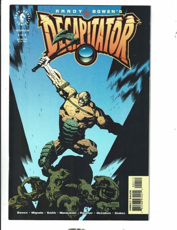 6 Comics Sex Warrior 2 Decapitator 2 1 4 Bizarre Hands 1 Hellboy Golden Arm J309