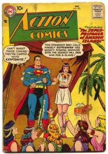 Action Comics #235 1957- SUPERMAN- Babe Ruth VG-
