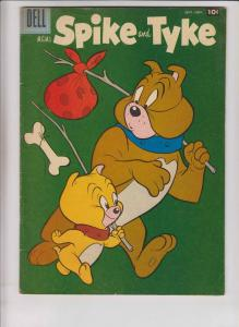 MGM's Spike and Tyke #11 FN- november 1957 - silver age dell comics m.g.m.
