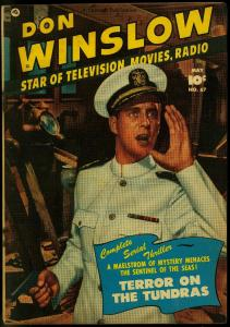 Don Winslow of the Navy #67 1951- Fawcett golden age photo cover G
