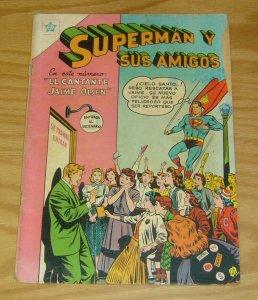 Superman y sus Amigos #7 POOR; Editorial Novaro | low grade comic - save on ship