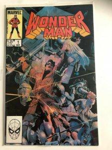 WONDER MAN #1 1986 MARVEL / ONE SHOT / HIGH GRADE